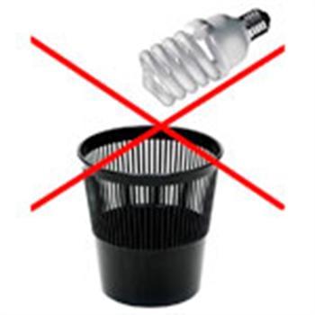 Порядок утилизации осветительных приборов